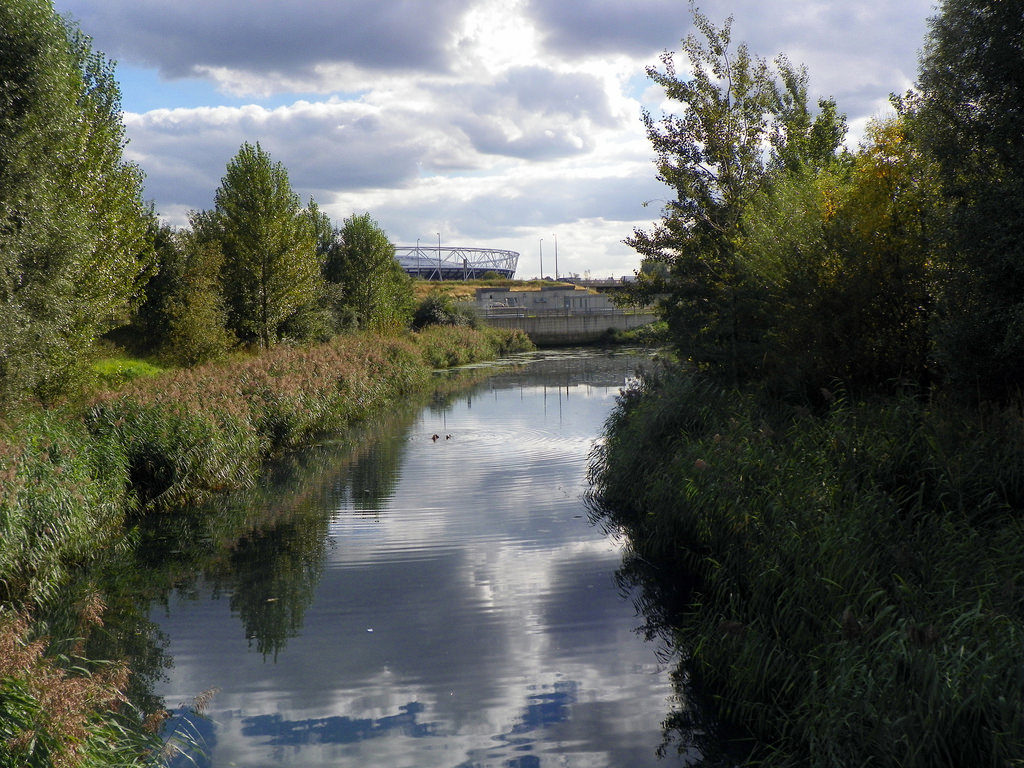 Wetlands in the Olympic Park, London|©Peter O'Connor/Flickr