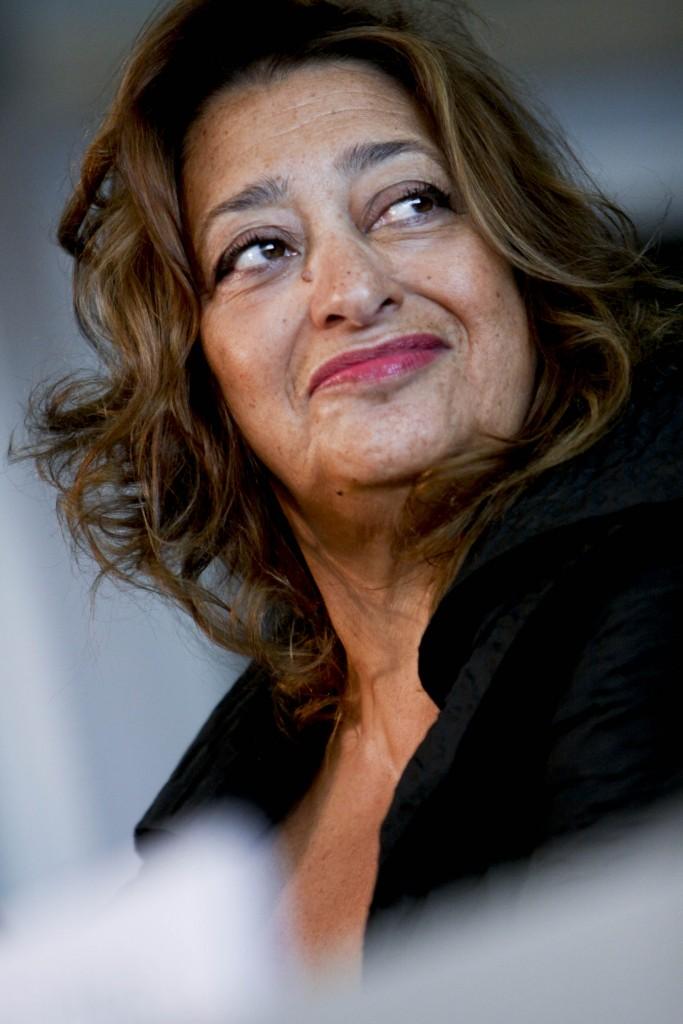 Zaha Hadid | © WikiCommons/Simone Cecchetti
