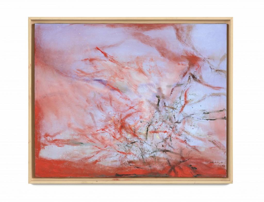 Zao Wou-Ki, 25.03.2004, 2004, Oil on Canvas | © Zao Wou-Ki ProLitteris, Zurich, 2016