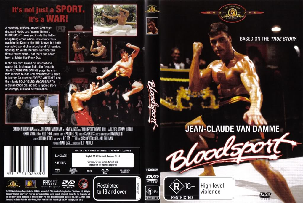 The Muscles from Brussels in his big break, the massively successful B-movie Bloodsport | © Cannon International