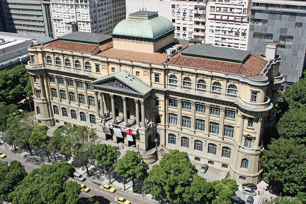 The National Library of Brazil  © Halleypo/WikiCommons
