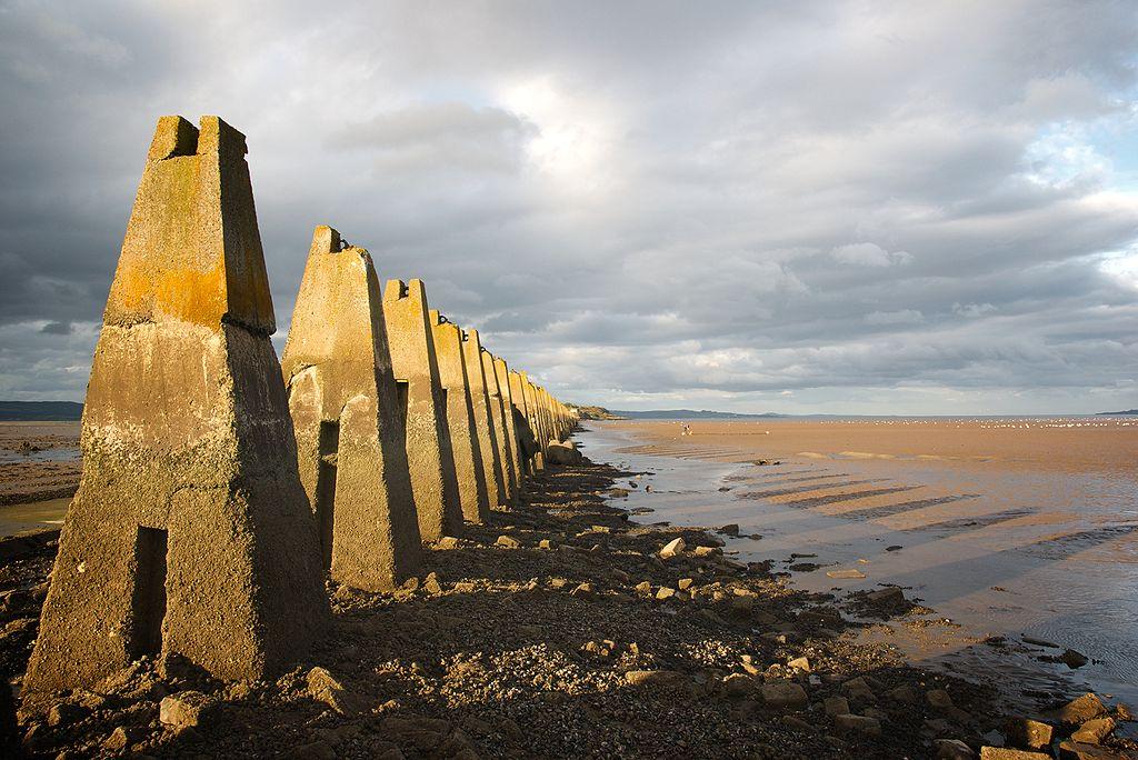 Cramond Causeway | © George Gastin/WikiCommons