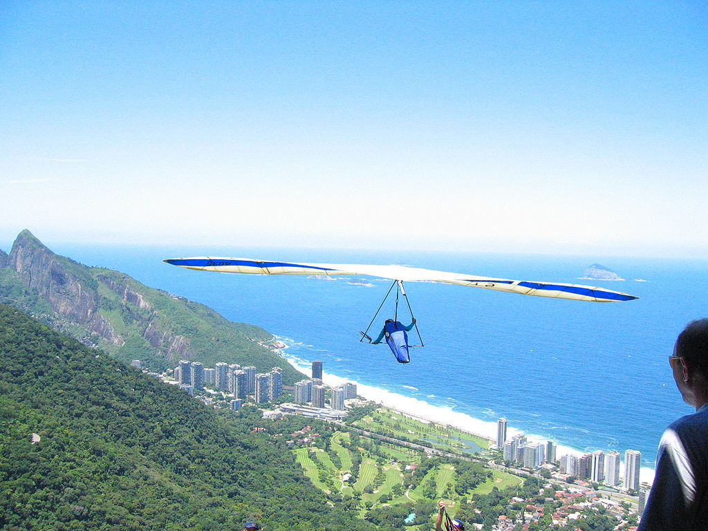 The view from Pedra Bonita which is also the base for handgliding   © Jordan Fischer/WikiCommons