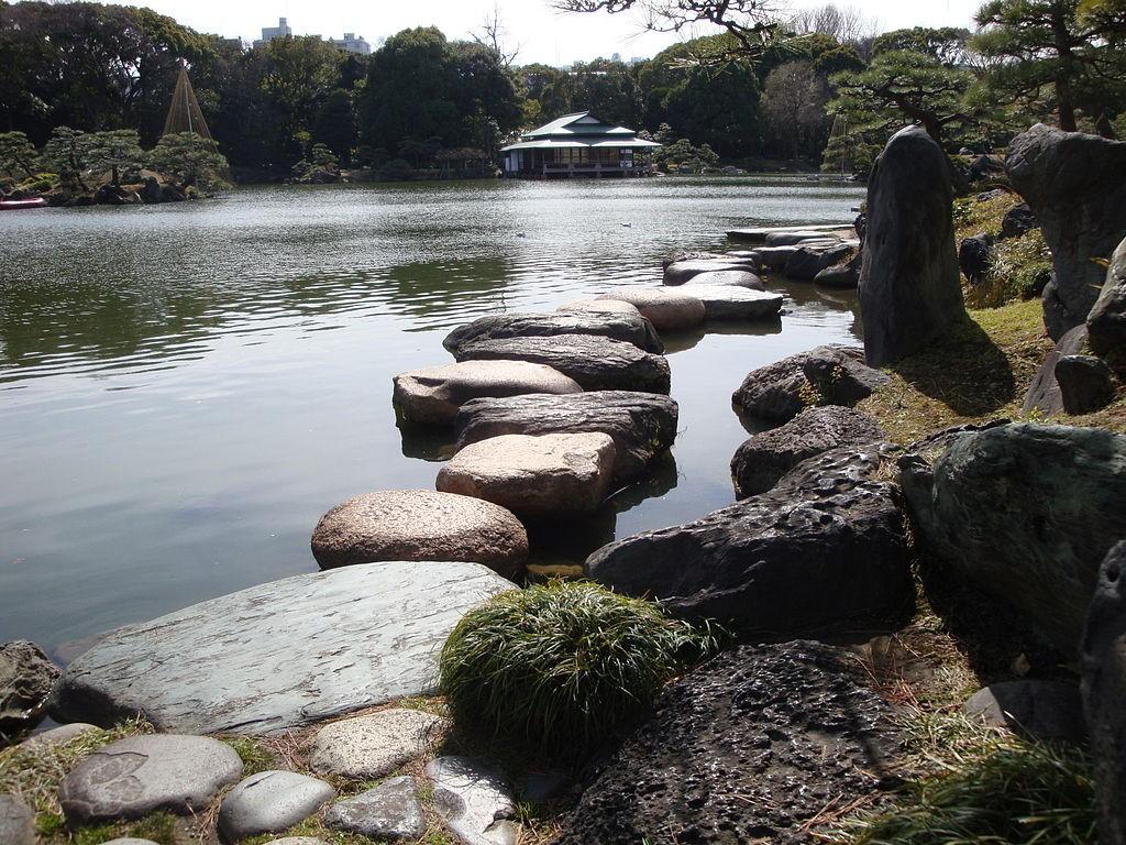 Stepping stones in Kiyosumi Garden | © Irina Gelbukh/WikiCommons