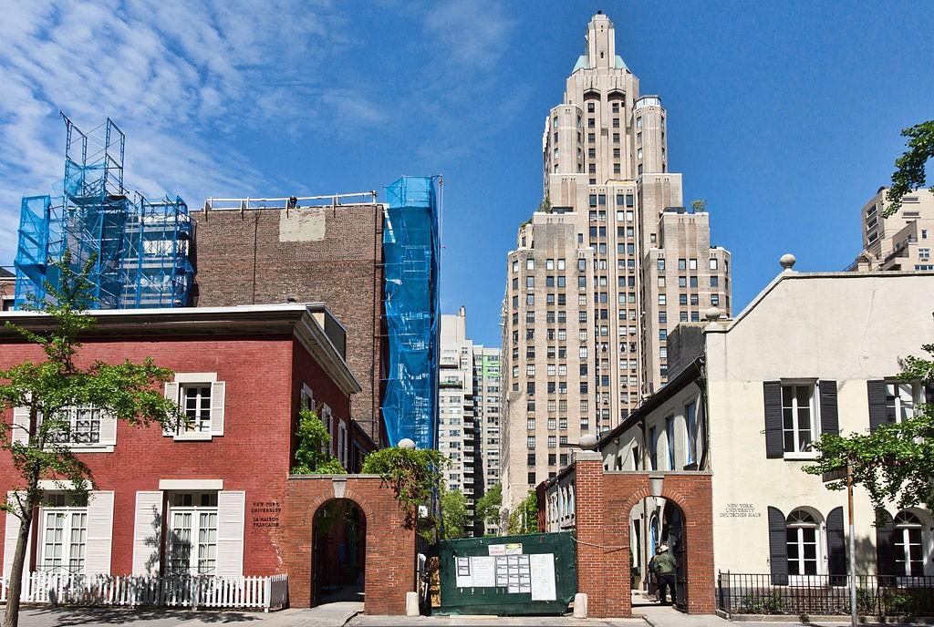 NYU Language Houses | © Jean Christophe Benoist, Wikipedia Commons
