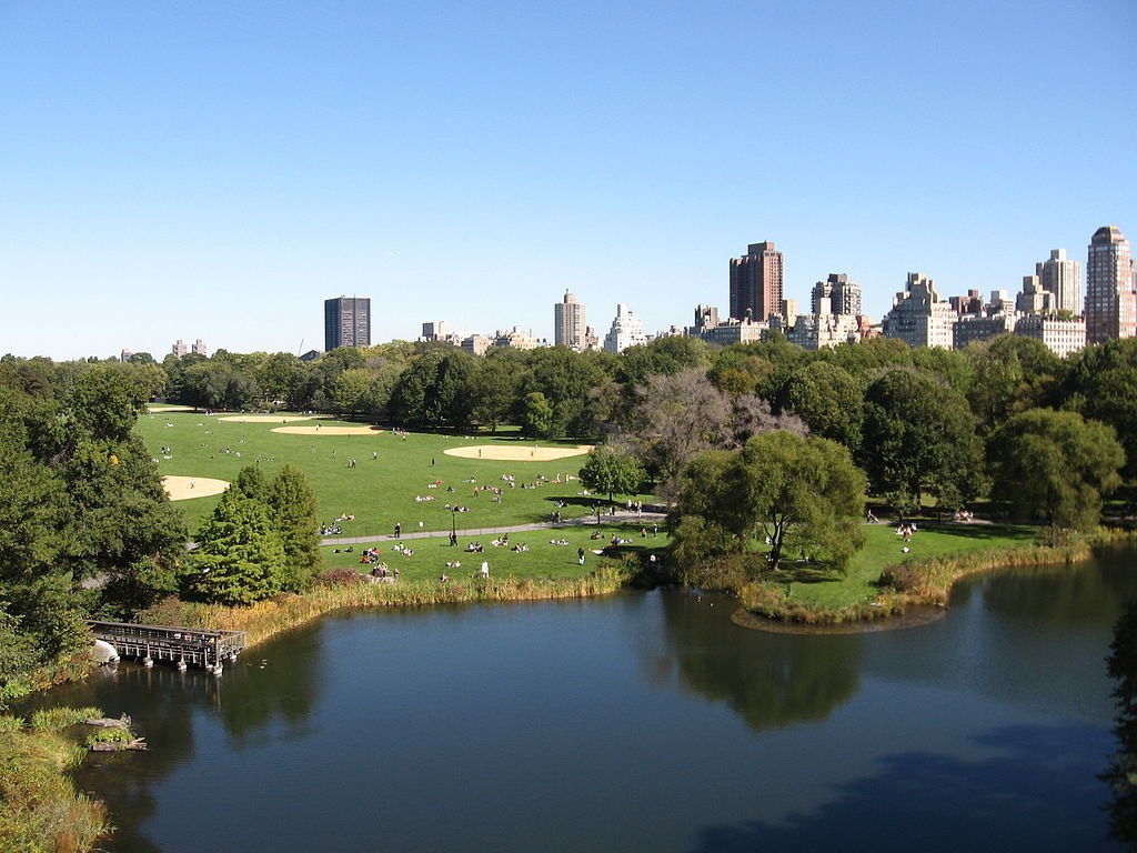 View Of The Great Lawn From Belvedere Castle | © Wikipedia Commons