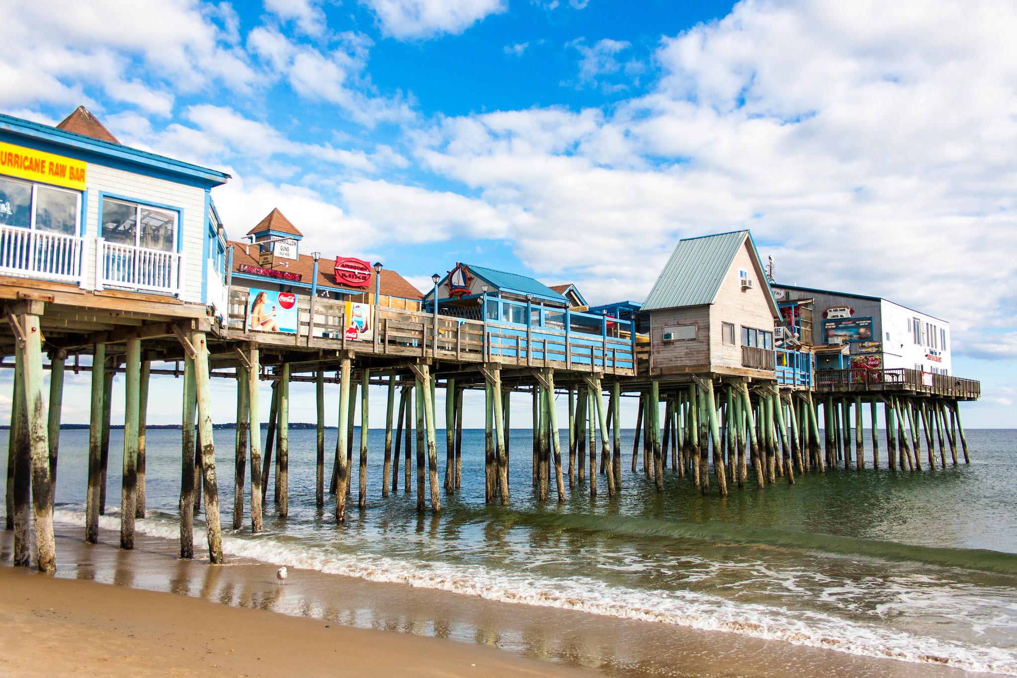 Old Orchard Beach Pier   © Paul VanDerWerf/Flickr