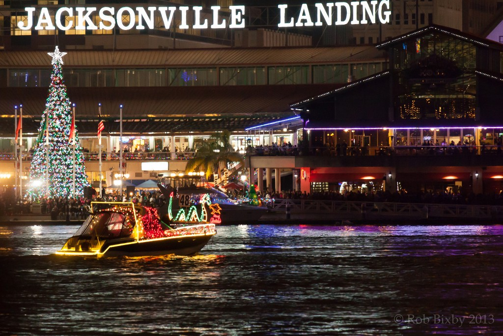 Jacksonville Light Boat and Firework Parade | Courtesy of Rob Bixby/Flickr