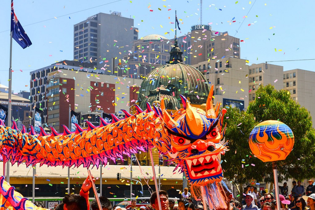 Chinese New Year © Chris Phutully/Wikipedia