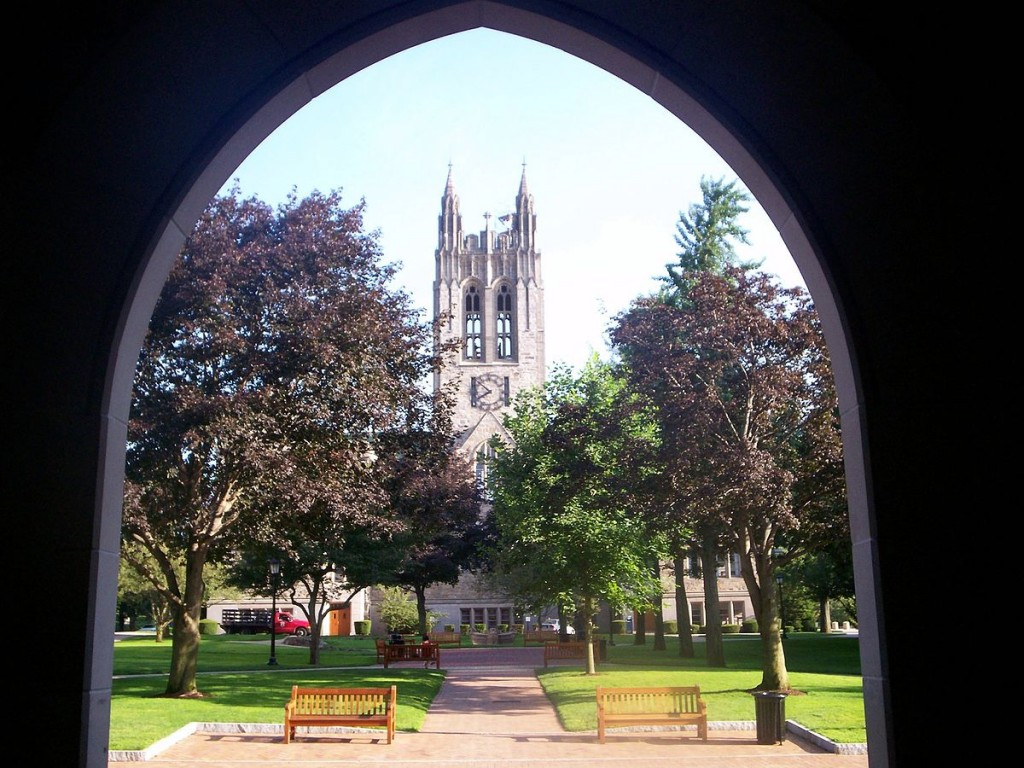 Boston College | ©Boston Starbucks Rebel/Wikipedia