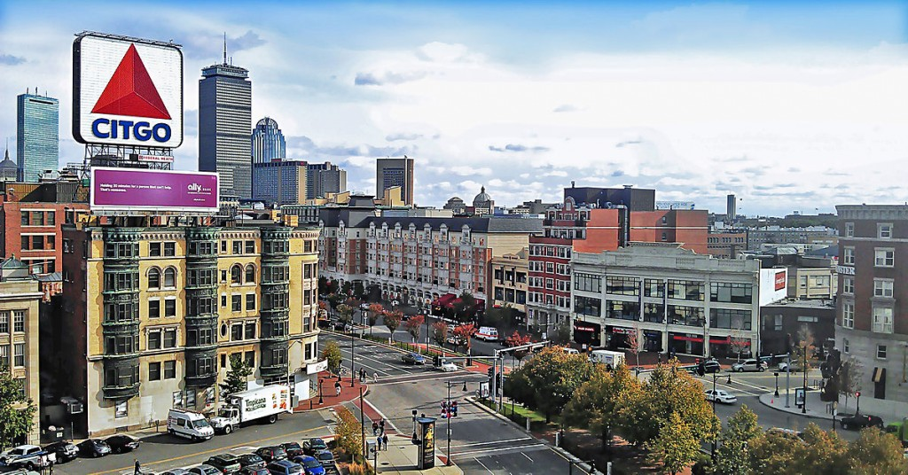 Kenmore Square | ©Henry Han/Wikipedia