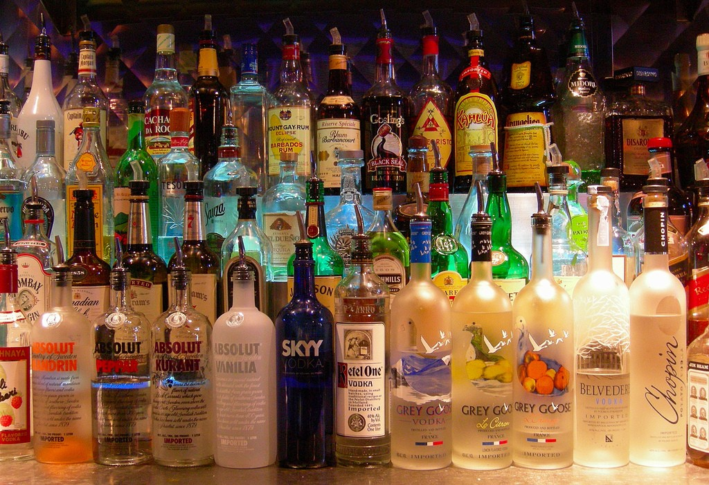 Fully stocked bar awaits you at Hunters Night Club in Wilton Manors |Courtesy of Edwin Land/Flickr