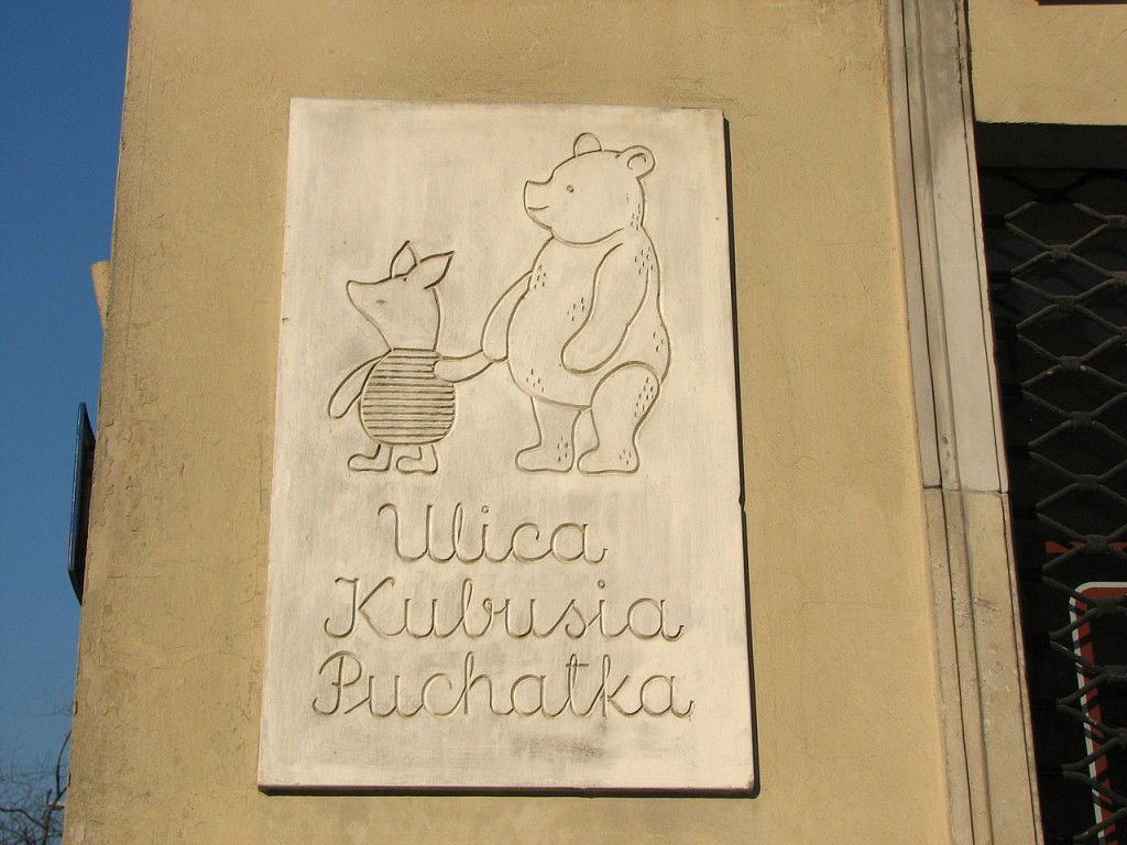 Winnie-the-Pooh Street in Warsaw | © Gophi / WikiCommons
