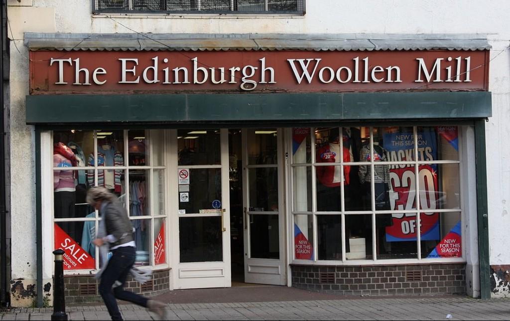 Edinburgh Woolen Mill | Ardfern/WikiCommons