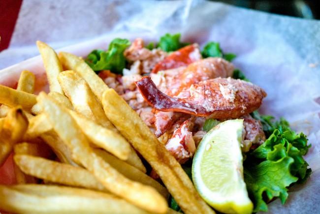Lobster Roll | © Larry Hoffman/Flickr