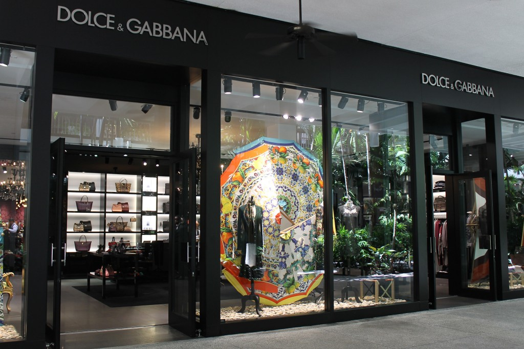 Dolce & Gabbana at Bal Harbour Shops / Phillip Pessar/Flickr