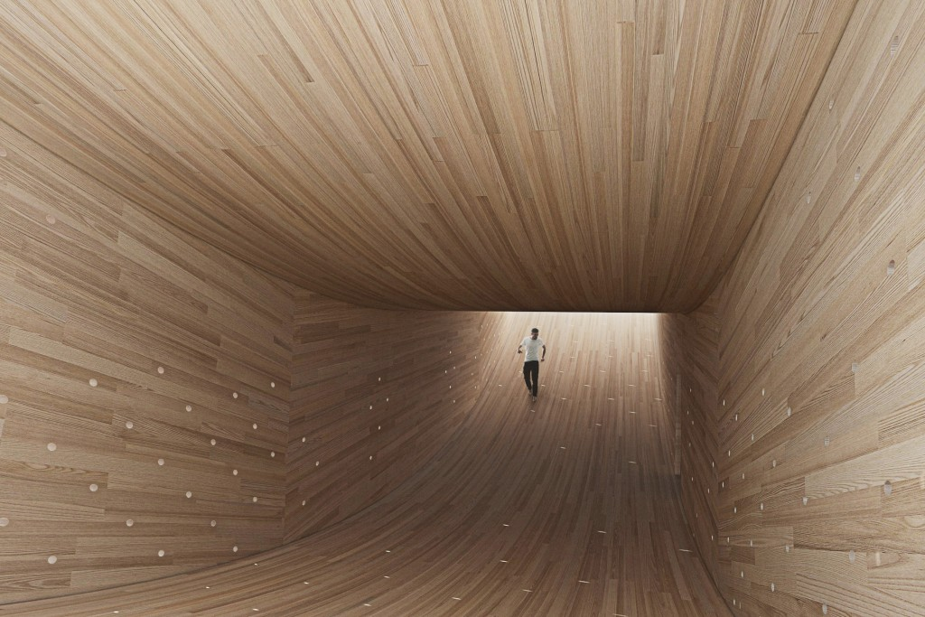 The Smile by Alison Brooks Architects, engineered by Arup|Image courtesy of the London Design Festival