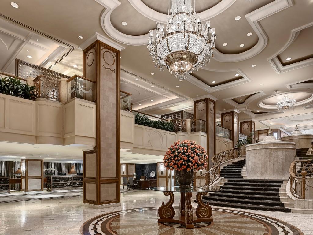 Lobby, The Langham Melbourne © Roderick Eime/Flickr