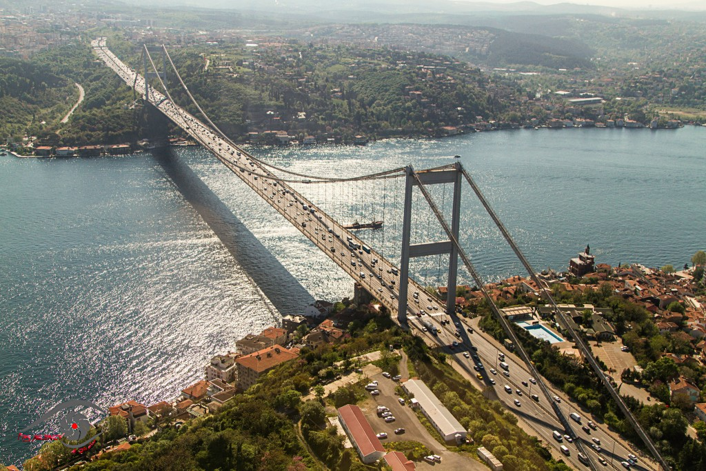 "the cultural and urban impact of a 3rd bridge on bosphorus Impacts of the ""marmaray"" project (bosphorus tube crossing, tunnels and stations) on transportation and urban environment in istanbul."