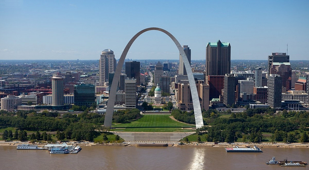 Gateway Arch in St. Louis, Missouri | © Sam valadi/Flickr