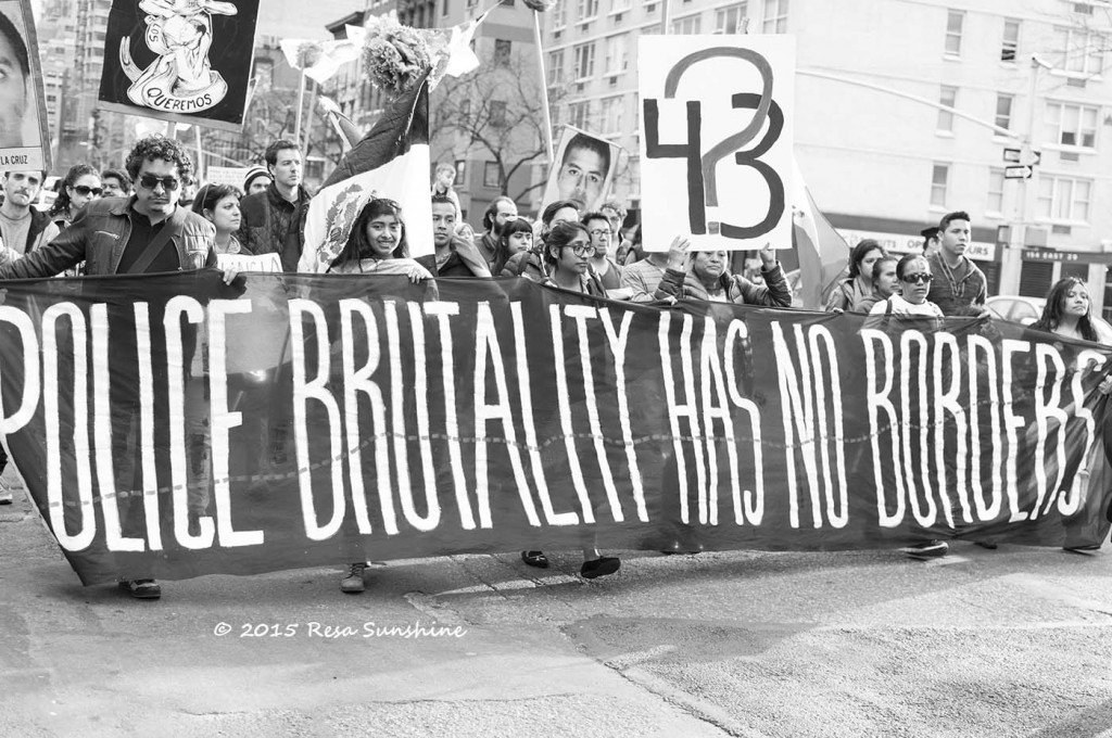 Police brutality has no borders | © A Jones/Flickr