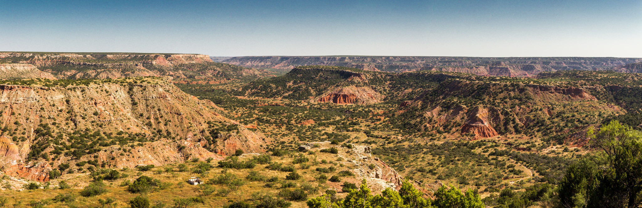 Palo Duro Canyon State Park Panoramic | © Jonathan Cutrer/Flickr