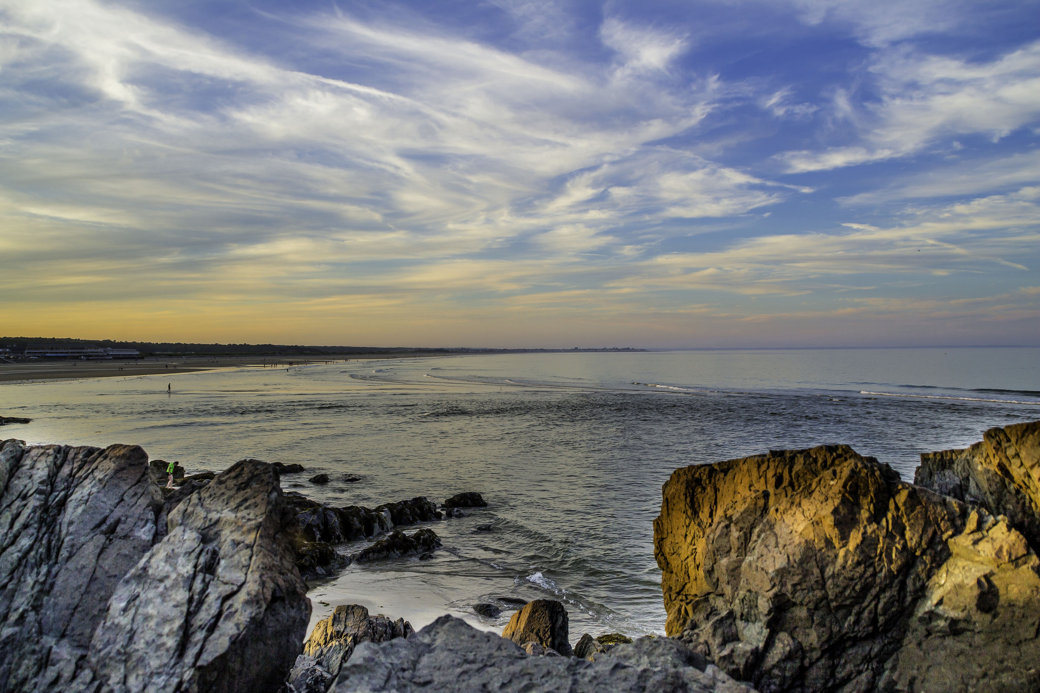 Sunset on the Marginal Way, Ogunquit, Maine | © Eric Moreno/Flickr