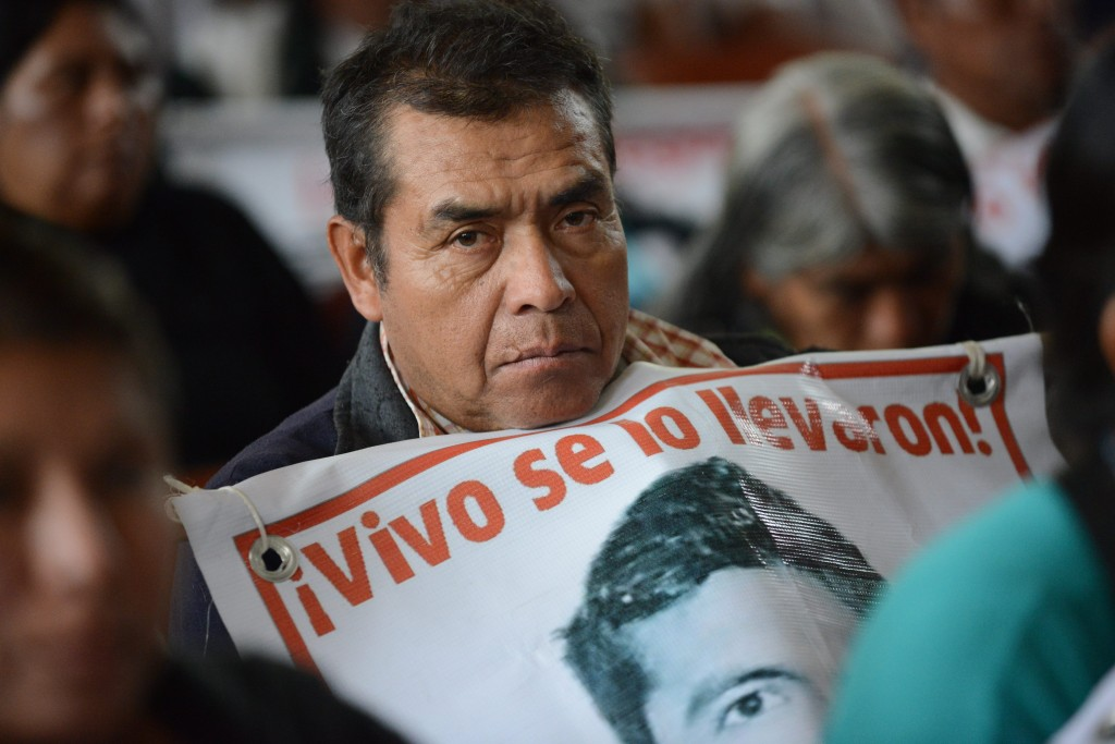 Parent of disappeared student | © Comisión Interamericana de Derechos Humanos/Flickr