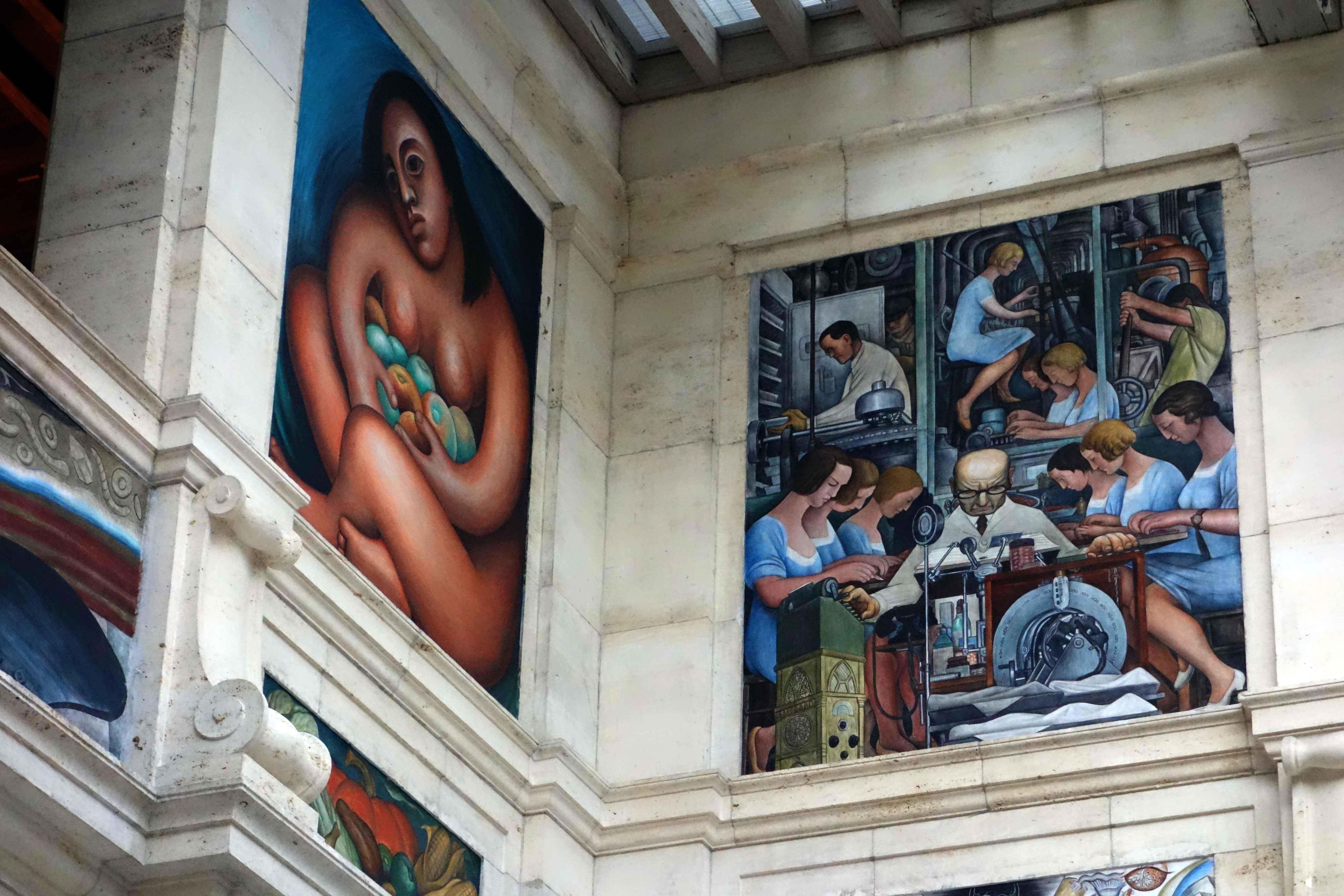 Diego Rivera, Detroit Institute of Arts   © Mike Steele/Flickr
