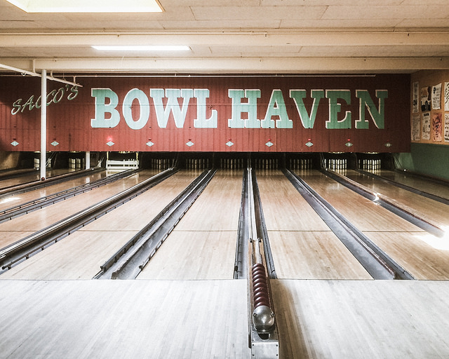 Sacco's Bowl Haven| ©Tim Sackton/Flickr