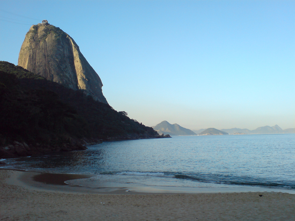 The view of Praia Vermelha |© Paulo Rená da Silva Santa/Flickr