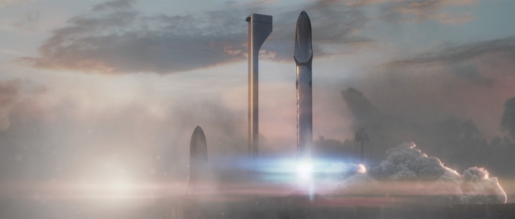 Space X Mars Mission | Courtesy Space X