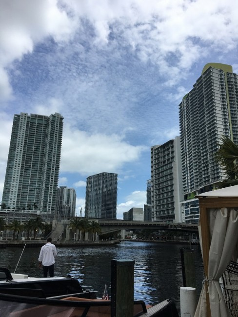 River Yacht Club situated on the Miami River: Photo Credit | Lisa Morales