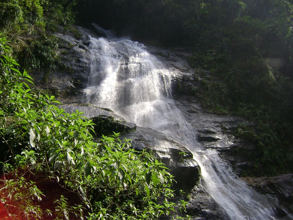 Waterfalls in the Tijuca rainforest |© Beth Castelo/Flickr