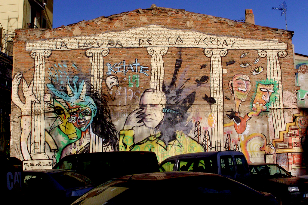 Street art in Poblenou | © sushipumpum
