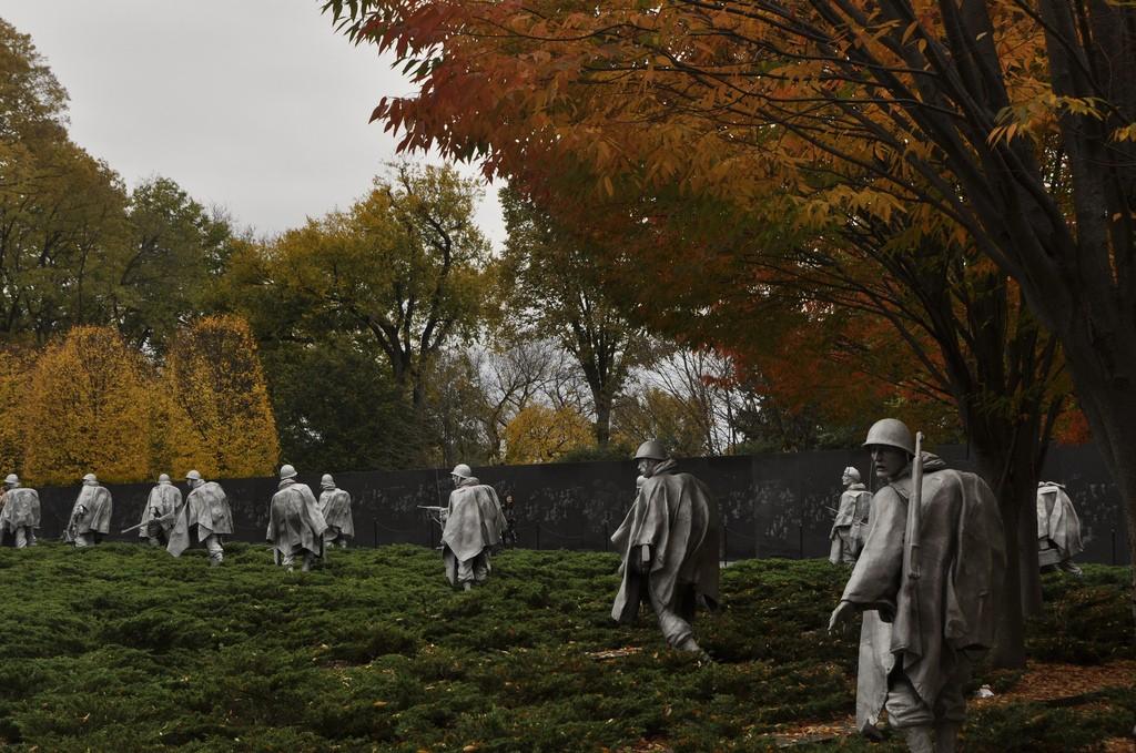 Korean War Memorial | © Michele Jannise/Flickr