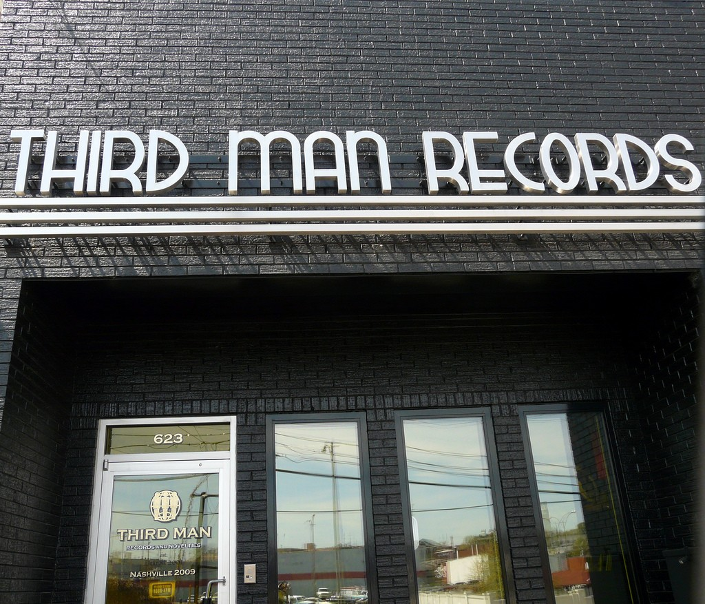 © Third Man Records storefront/Daniel Hartwig/Flickr