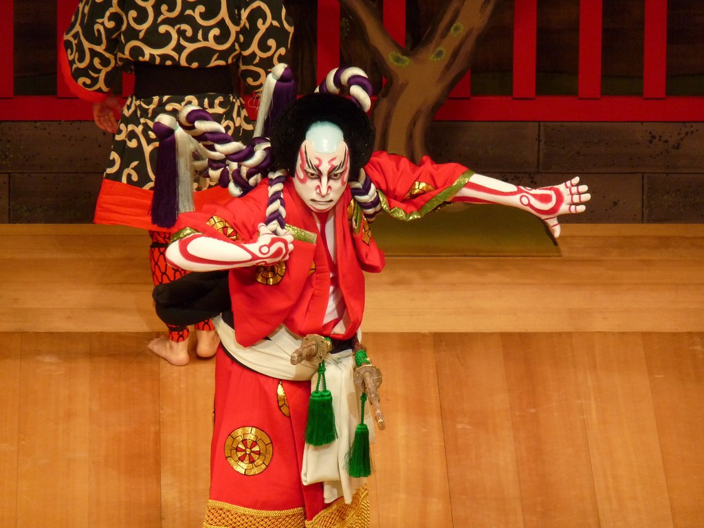 A kabuki play is performed in London | © GanMed64/Flickr