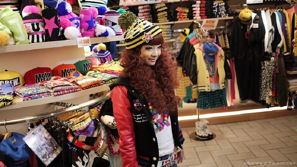Dressed in a classic Harajuku street style look | © Danny Choo/Flickr