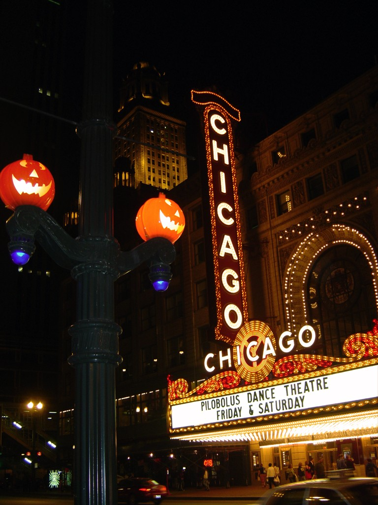 Halloween in Chicago, courtesy of Flickr: Chris Metcalf