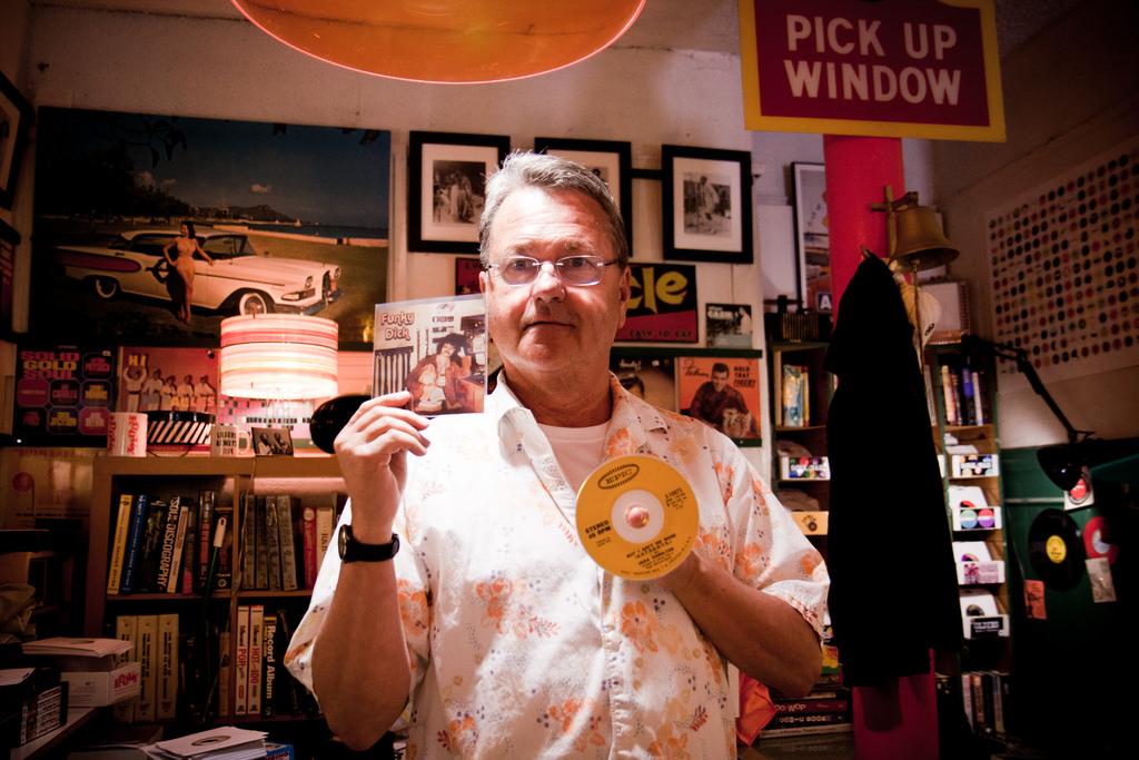 Owner of Rooky Ricardo's Records © Andreas Møller/Flickr