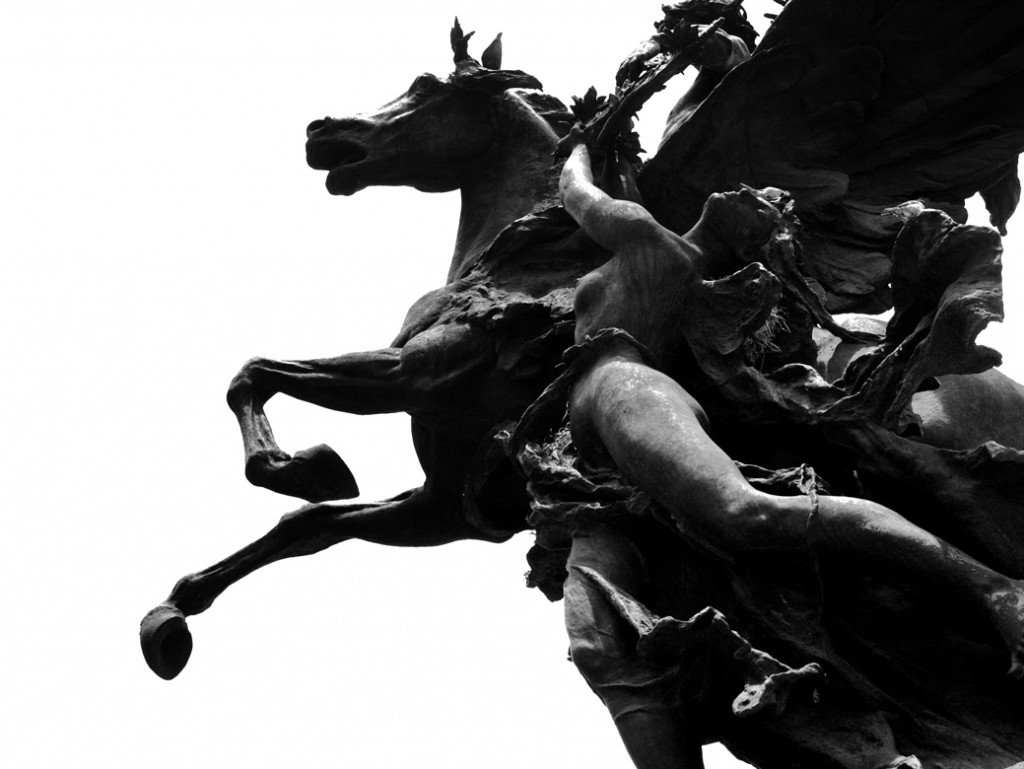 Estatuas de los Pegasos | © Rodrigo Huerta/Flickr
