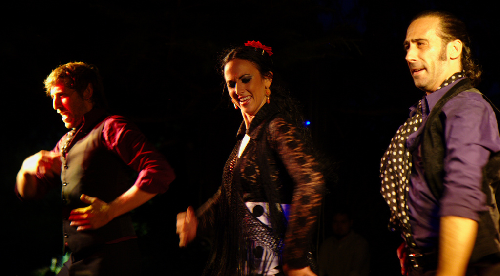 Flamenco dancers | © Jun