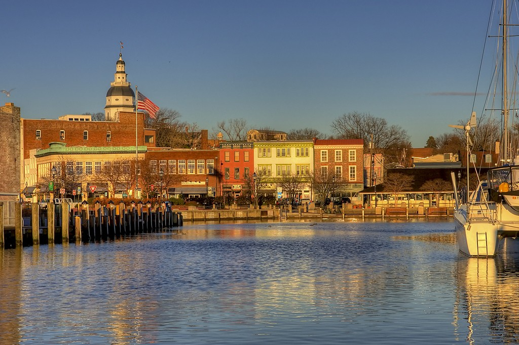 Annapolis Waterfront | © Charlie Stinchcomb/Flickr