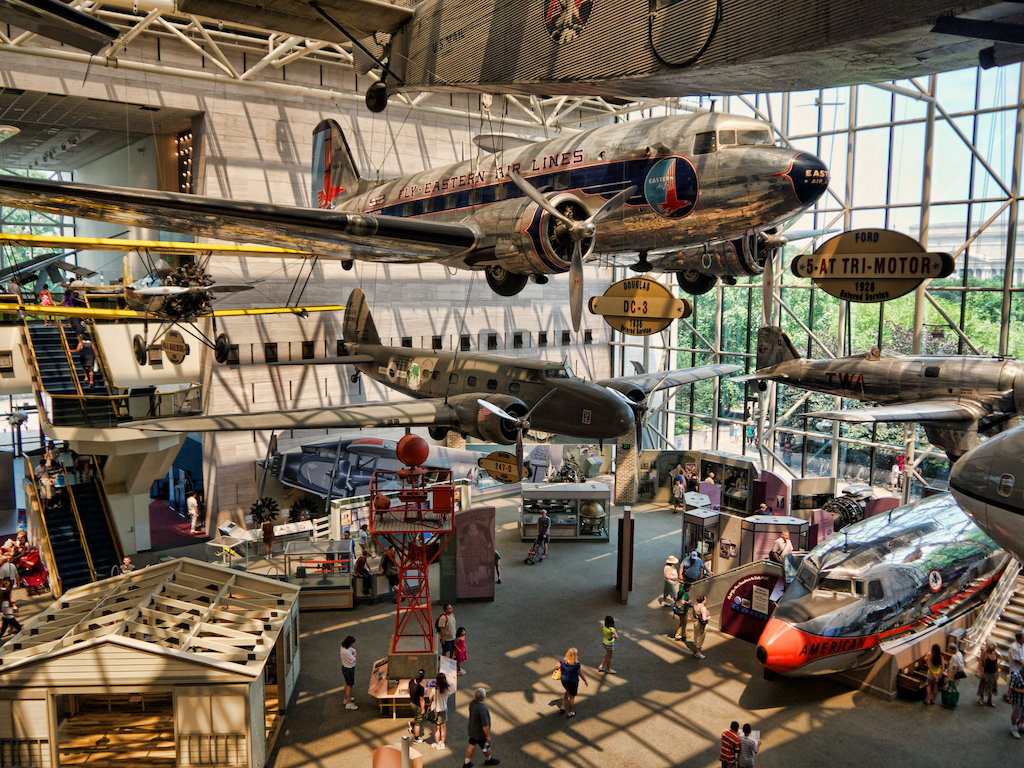 Smithsonian Air and Space Museum | © Don DeBold/Flickr