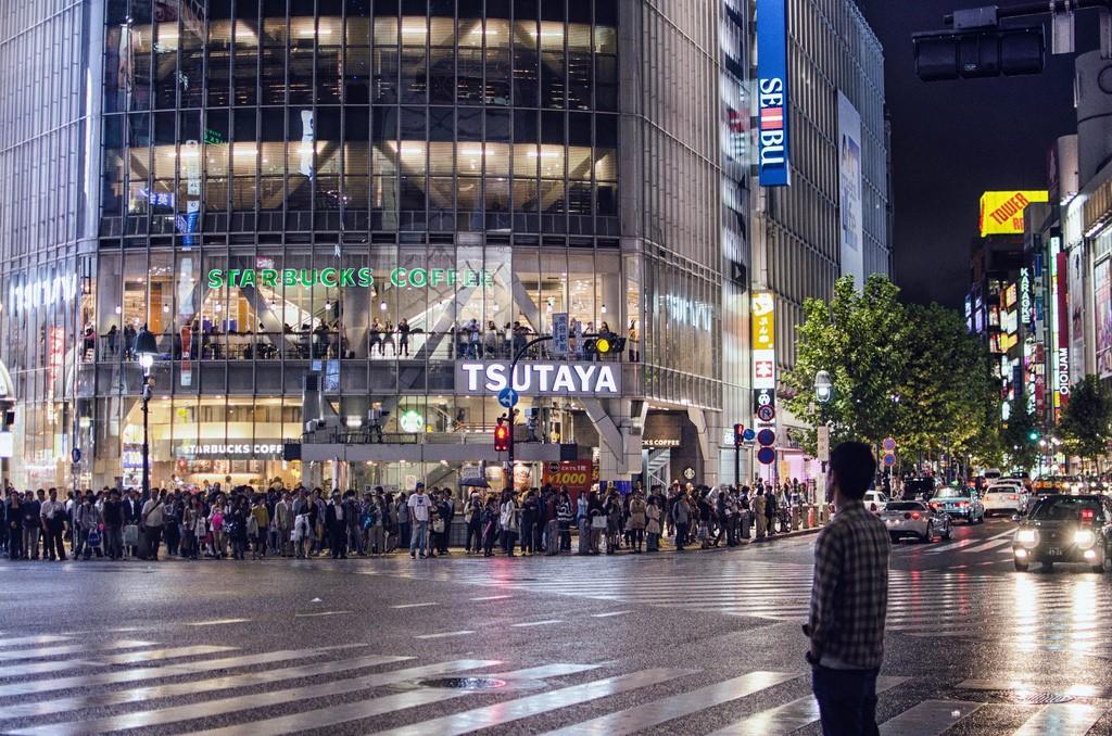 Another rainy day at Shibuya Crossing | © Ikusuki/Flickr