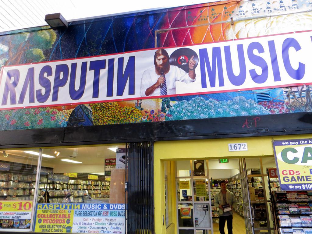 Rasputin Music © torbakhopper/Flickr