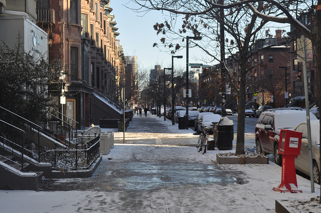 South End in the winter | ©Dave Levy/Flickr