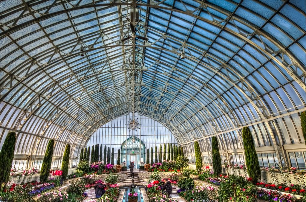 Como Park - Marjorie McNeely Conservatory | © m01229/Flickr