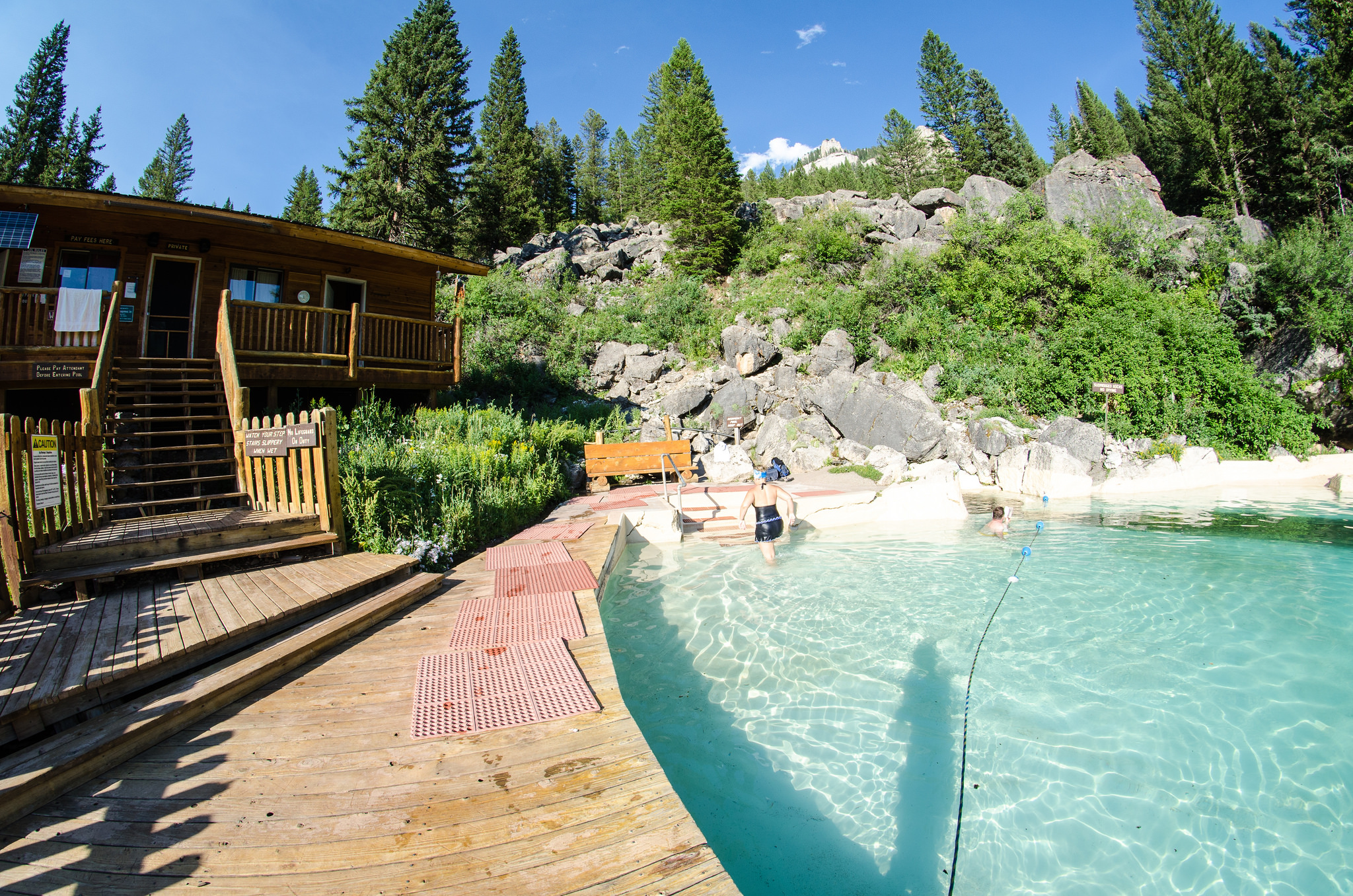 Granite Hot Springs - Just outside of Jackson, WY | © m01229/Flickr